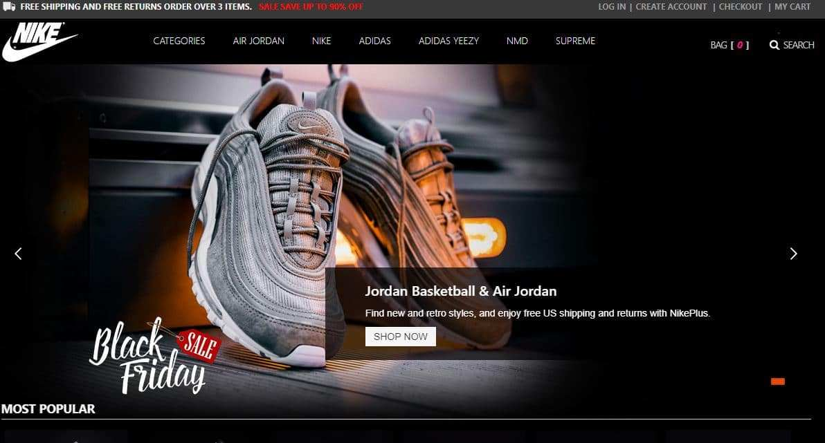 Nikezdnsnx.tw Tienda Falsa Online Nike