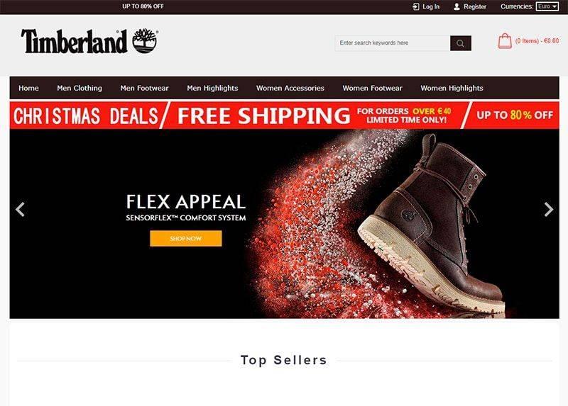 Timberlandonshops.com Tienda Falsa Online Timberland