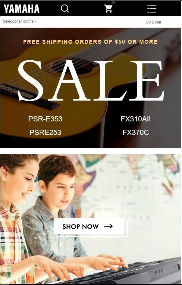 Yamahaushop.com Tienda Falsa Online Articulos Yamaha