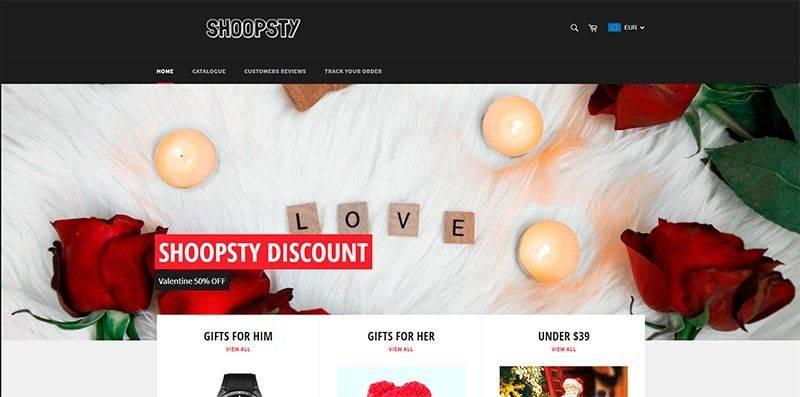 Shoopsty.com Tienda Falsa Online Multiproducto
