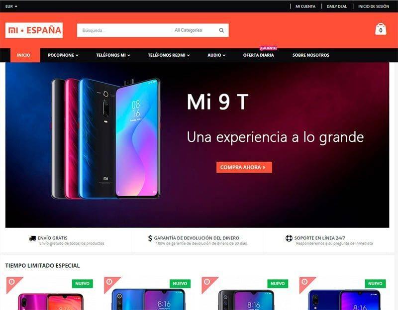 mi-movil.online tienda falsa online Xiaomi