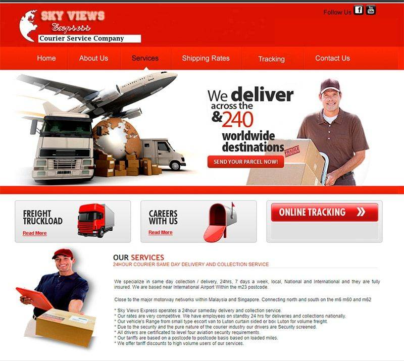 Skyviewsexpress.com Web Falsa Envios Paqueteria