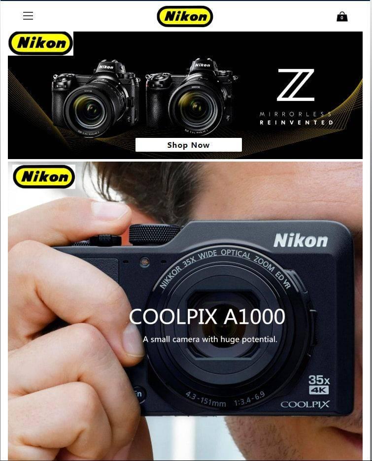 Camerapromotion.club Tienda Online Falsa Nikon