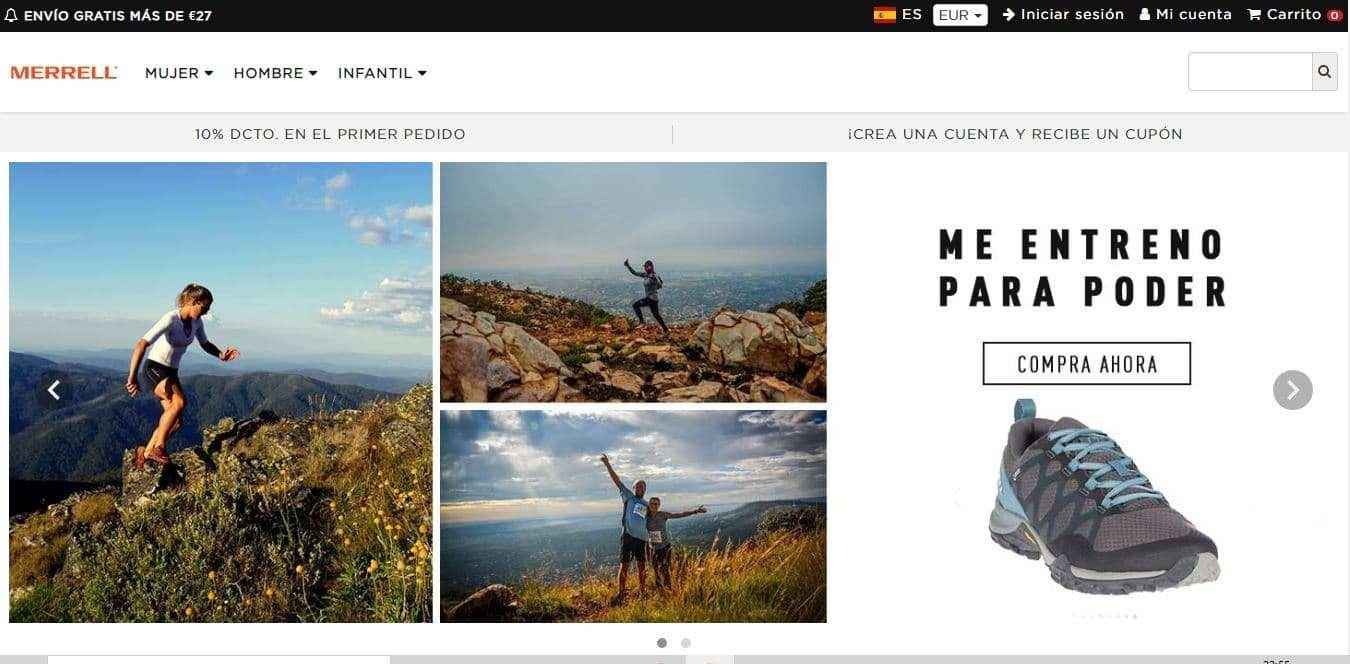 Merrellian.online Tienda Falsa Online Merrell