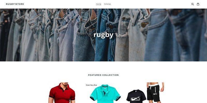 Rugby1store.myshopify.com Tienda Falsa Online Moda Hombre
