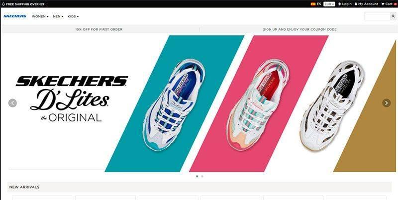 skechers online shopping