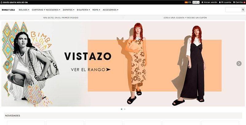 Bimbaylolan.online Tienda Falsa Online Bimba Y Lola