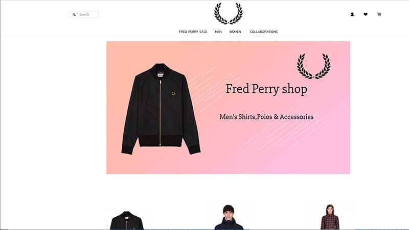 Fredperrycostly.com Tienda Falsa Online Fred Perry