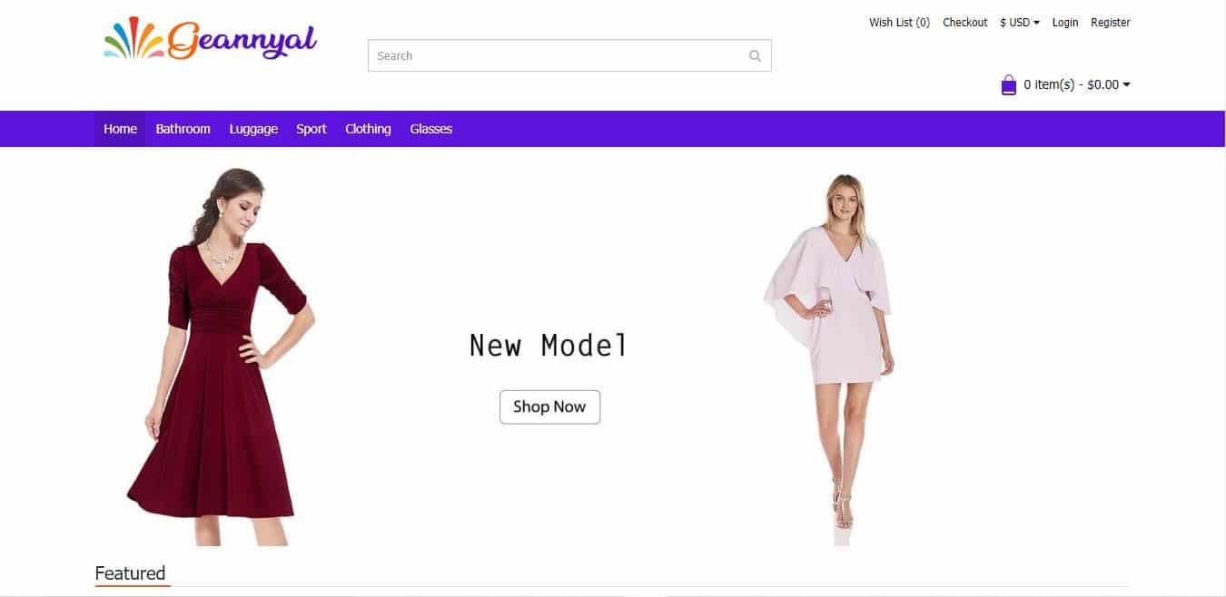 Geannyal.com Tienda Online Falsa Multiproducto