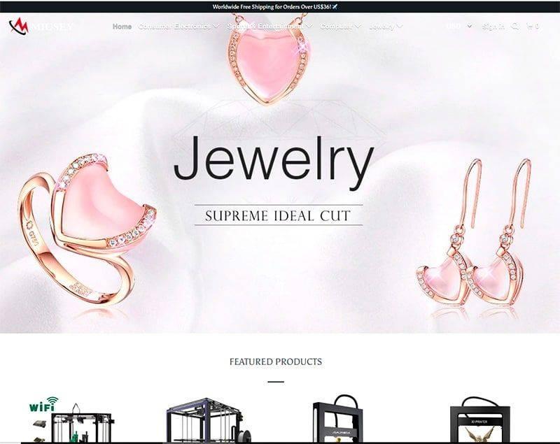 Miusey.com Tienda Falsa Online Impresion 3d