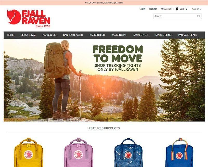 mybags-store.com Tienda Online Falsa Fjallraven