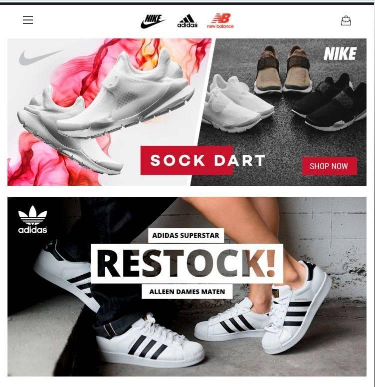 Nikeky.com Tienda Falsa Online Nike Adidas New Balance