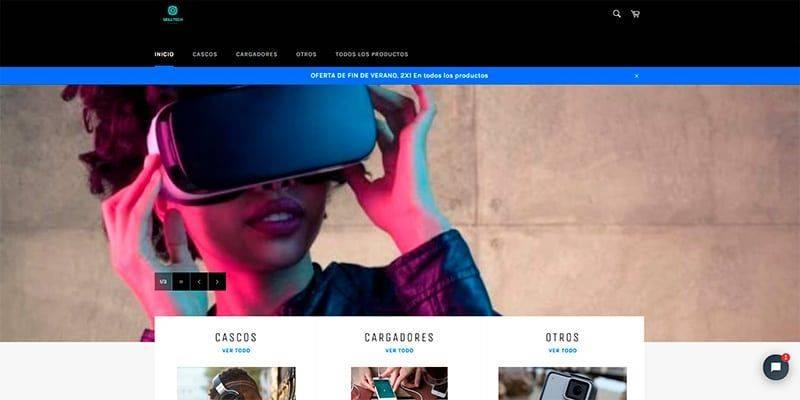 Skillteechs.com Tienda Online Falsa Electronica