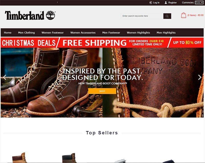 Timbashop.com Tienda Online Falsa Timberland