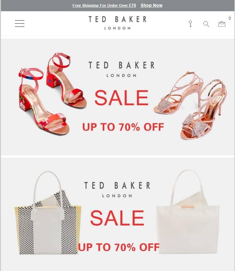 Uktbstore.top Tienda Online Falsa Ted Baker
