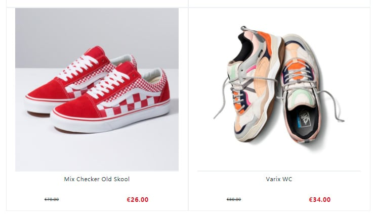 fake online shop sneakers Vans Fakes, Scams and