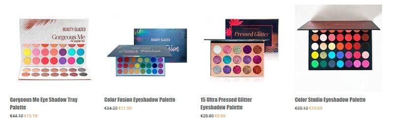Beautyglazedcosmetics.com Tienda Online Falsa