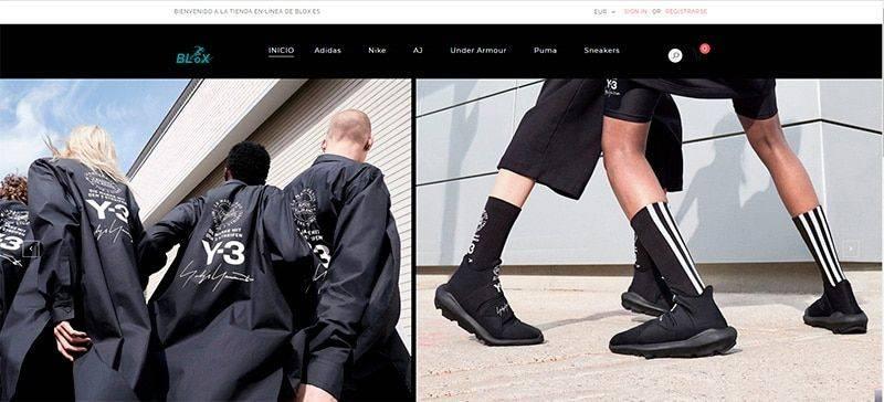 Blox.es Tienda Online Falsa Zapatillas