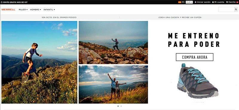 Merrellden.online Tienda Online Falsa Merrell