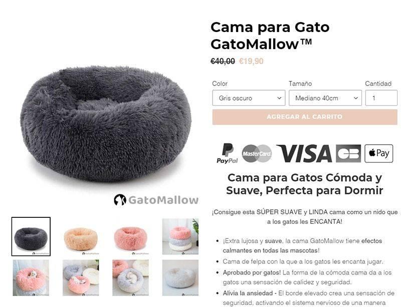 Gatomallow.com Tienda Online Falsa