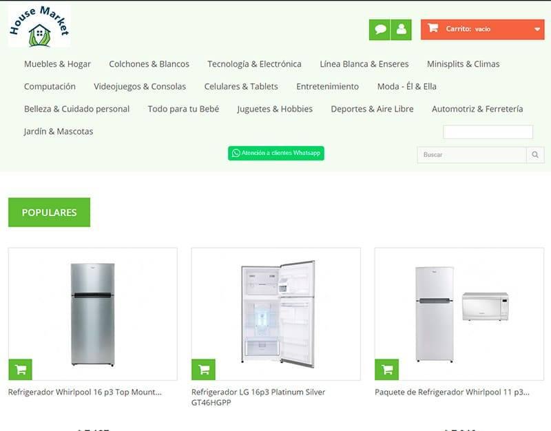 Housemarket.com.mx Tienda Online Falsa Electronica Electrodomesticos