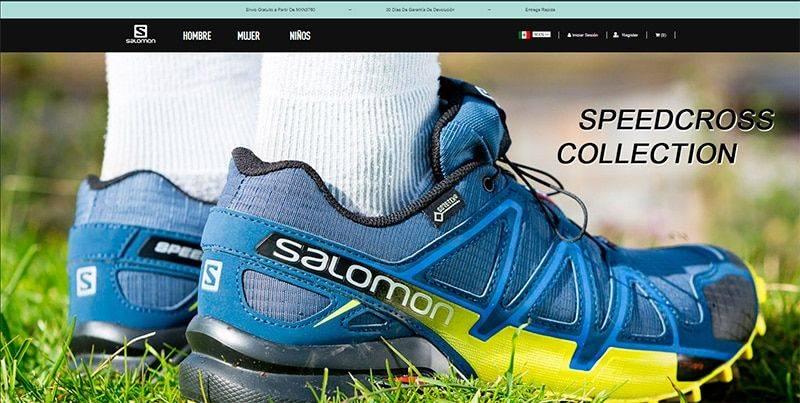 Tenissalomon.com.mx Tienda Online Falsa Salomon