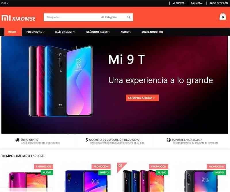 Xiaomse.com Tienda Online Falsa Xiaomi
