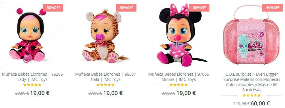 Ajuguete.com Tienda Online Falsa