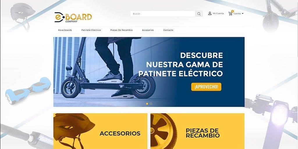 E-Board-Company.net Tienda Falsa Online Patinetes Electricos
