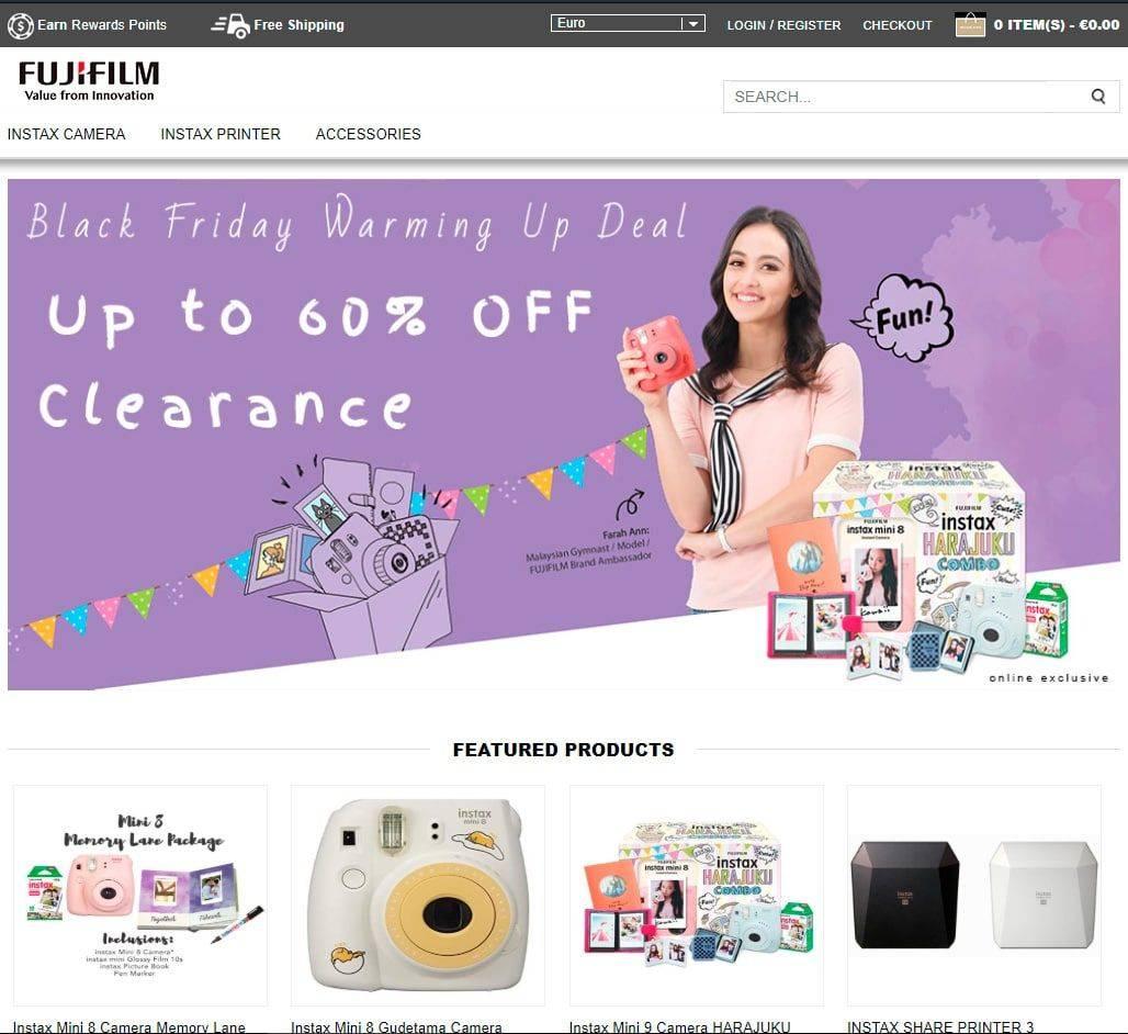 Fort.caizus.com Tienda Falsa Fujifilm