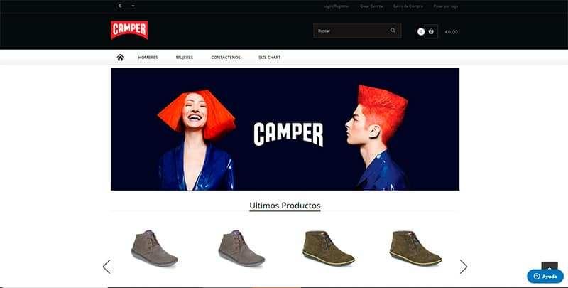 I91e2.com Tienda Online Falsa Camper