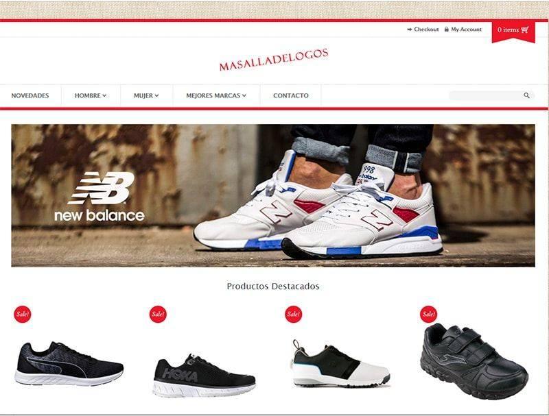 Masalladelogos.com Tienda Online Falsa Zapatillas