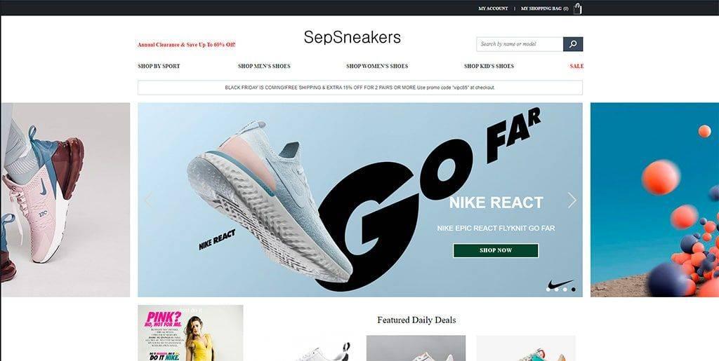 Sepsneakers.com Tienda Falsa Online Nike