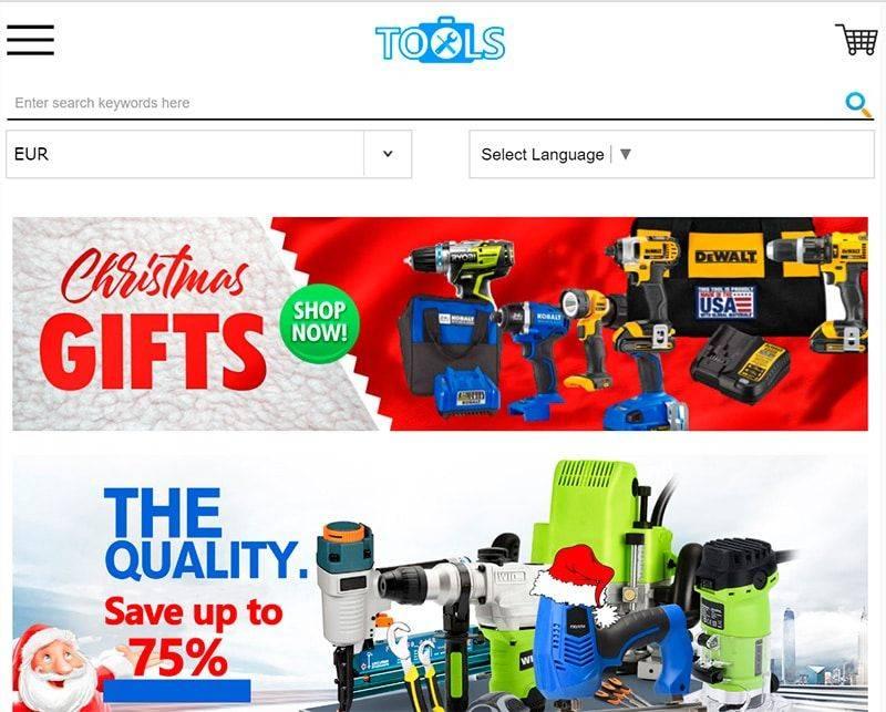Toolst.online Tienda Online Falsa Herramientas
