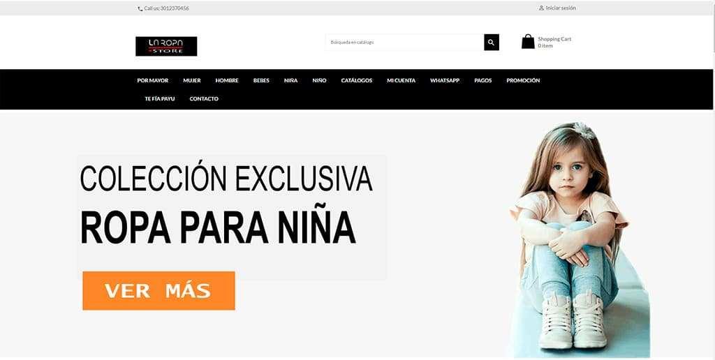 Laropa.store Tienda Online Falsa Ropa Al Por Mayor