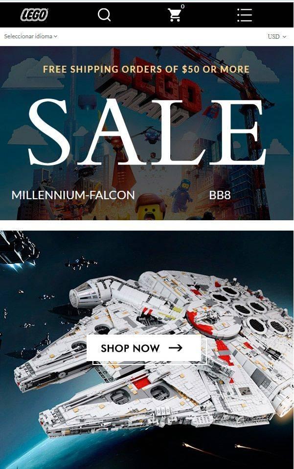 Olhjdf.com Tienda Online Falsa Lego