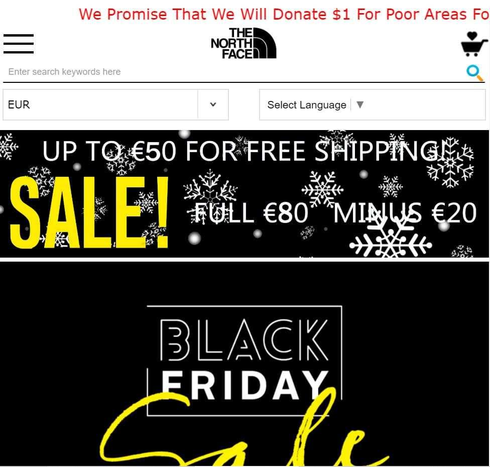 Bigsalelcq.icu Tienda Falsa Online North Face