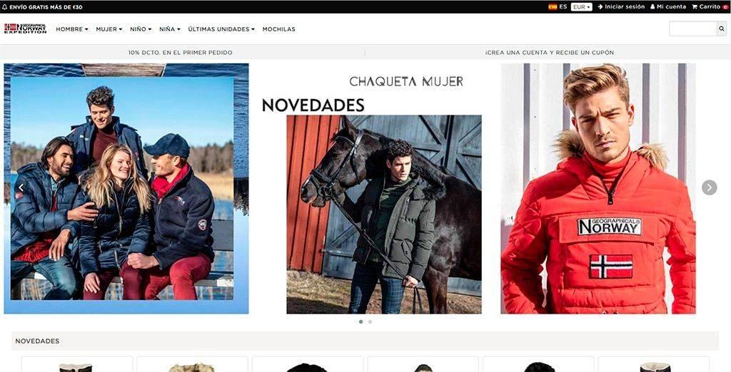Chaquetanorway.online Tienda Falsa Online Geographical Norway