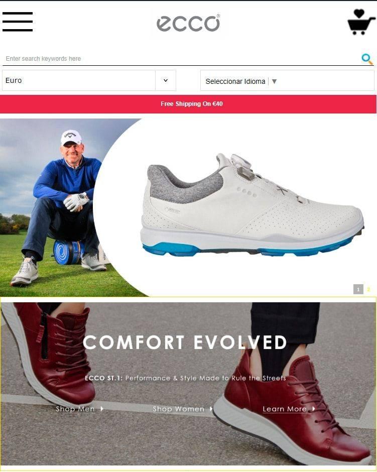 Eccoeoutlets.com Tienda Online Falsa Calzado Ecco
