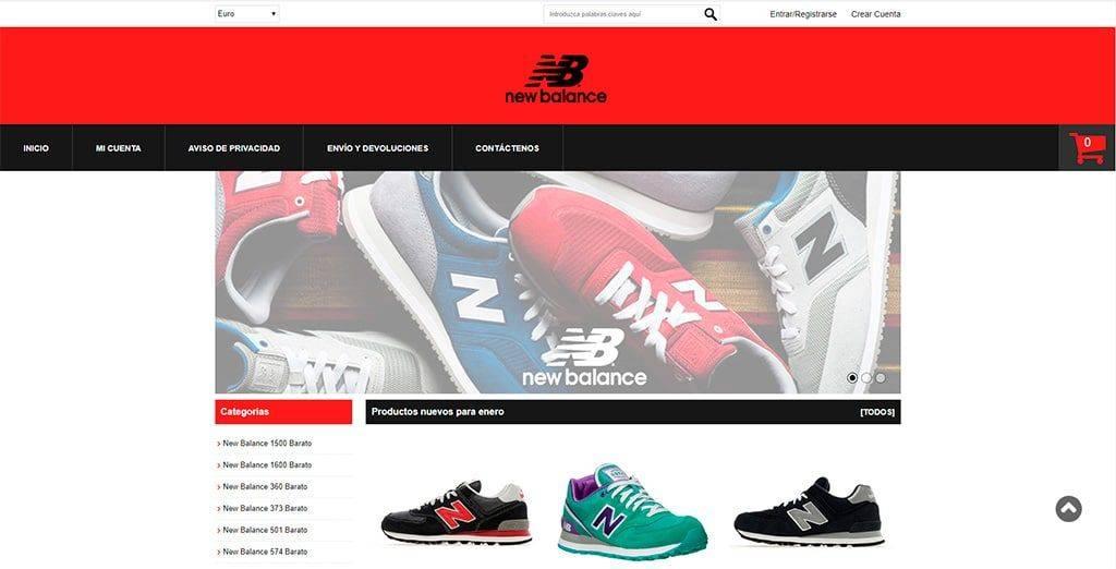 Leticialara.es Tienda Online Falsa New Balance