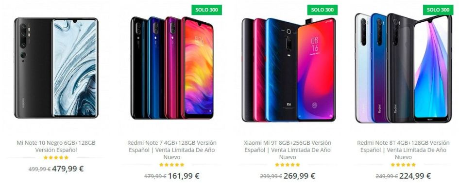 Movilv.com Fake Online Shop Xiaomi