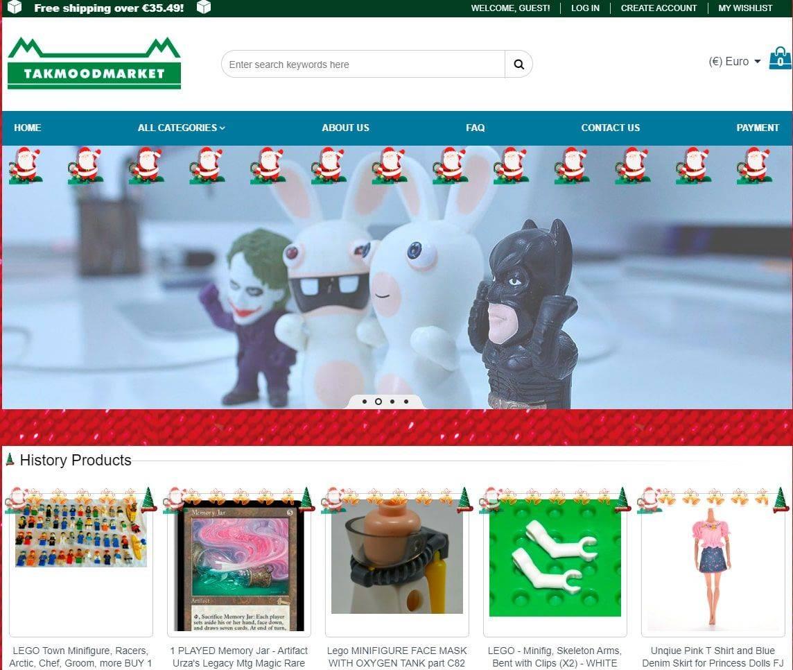 Takmoodmarket.com Tienda Online Falsa Juguetes