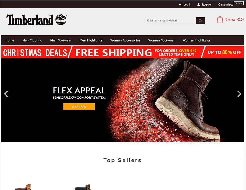 Timberlandeuoutlet.com Tienda Online Falsa Timberland