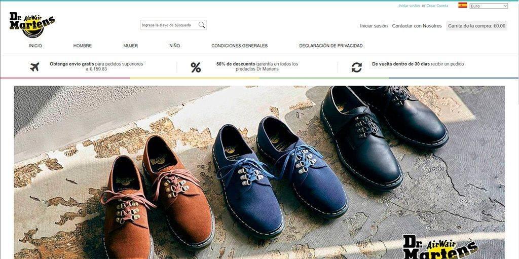 Wowpark.es Tienda Online Falsa Dr Martens