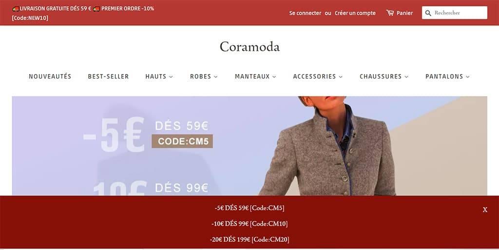 Coramoda.com Tienda Online Falsa Moda