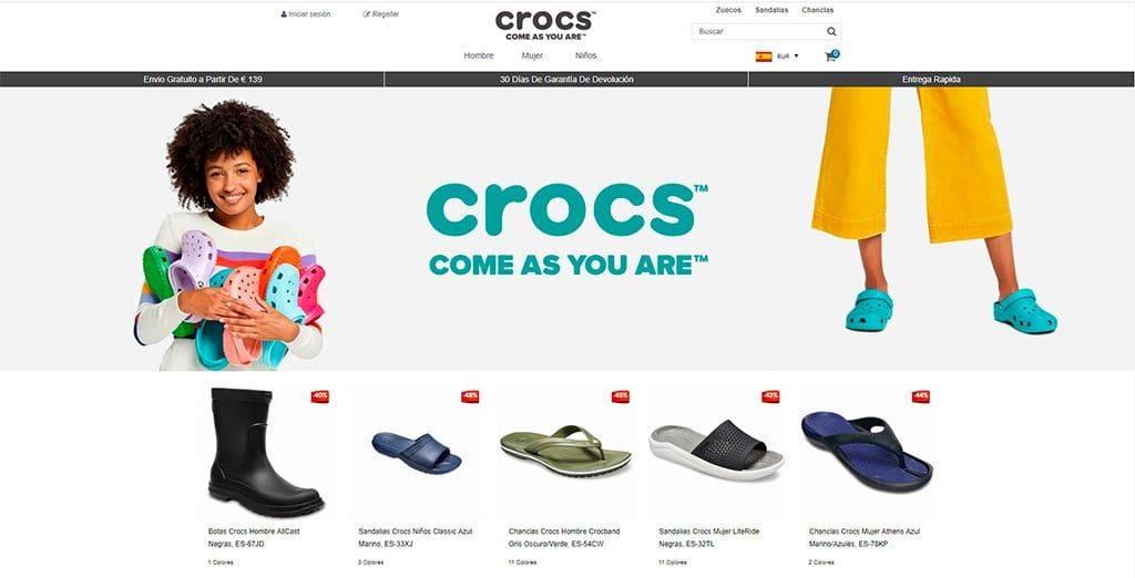 Crocsbarcelona.es Tienda Online Falsa Calzado Crocs