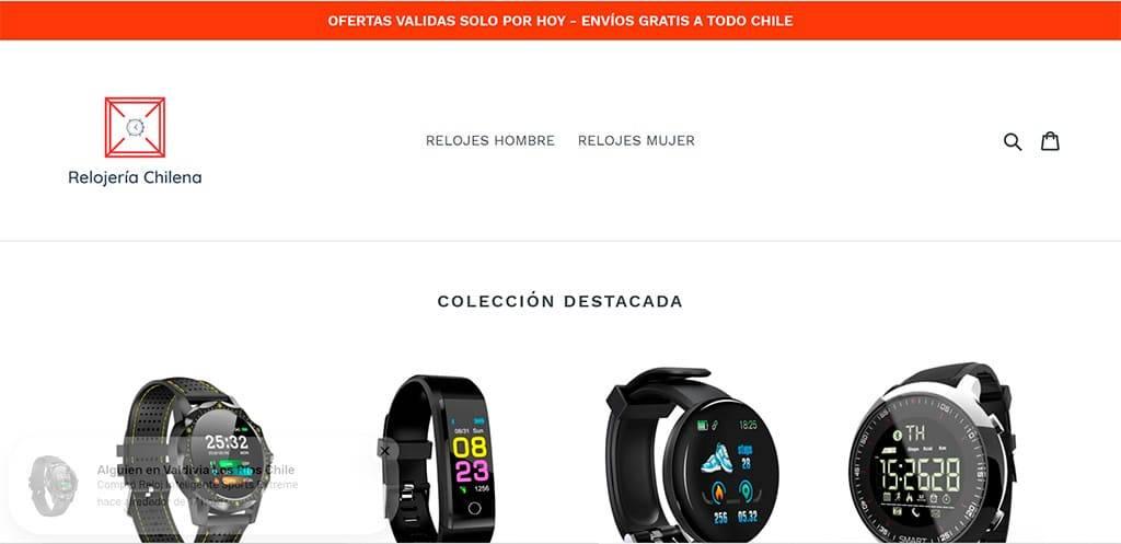 Relojeriachilena.com Tienda Online Falsa Relojes