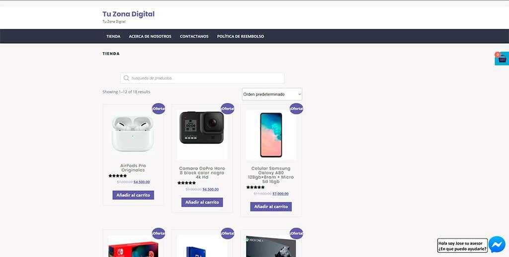 Tuzonadigital.com Tienda Online Falsa Electronica