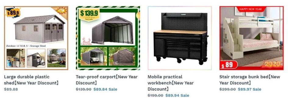 Vfghjk.myshopify.com Multi Product Fake Online Shop