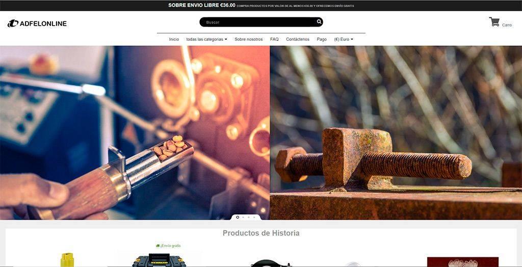 Adfelonline.com Tienda Online Falsa Multiproducto